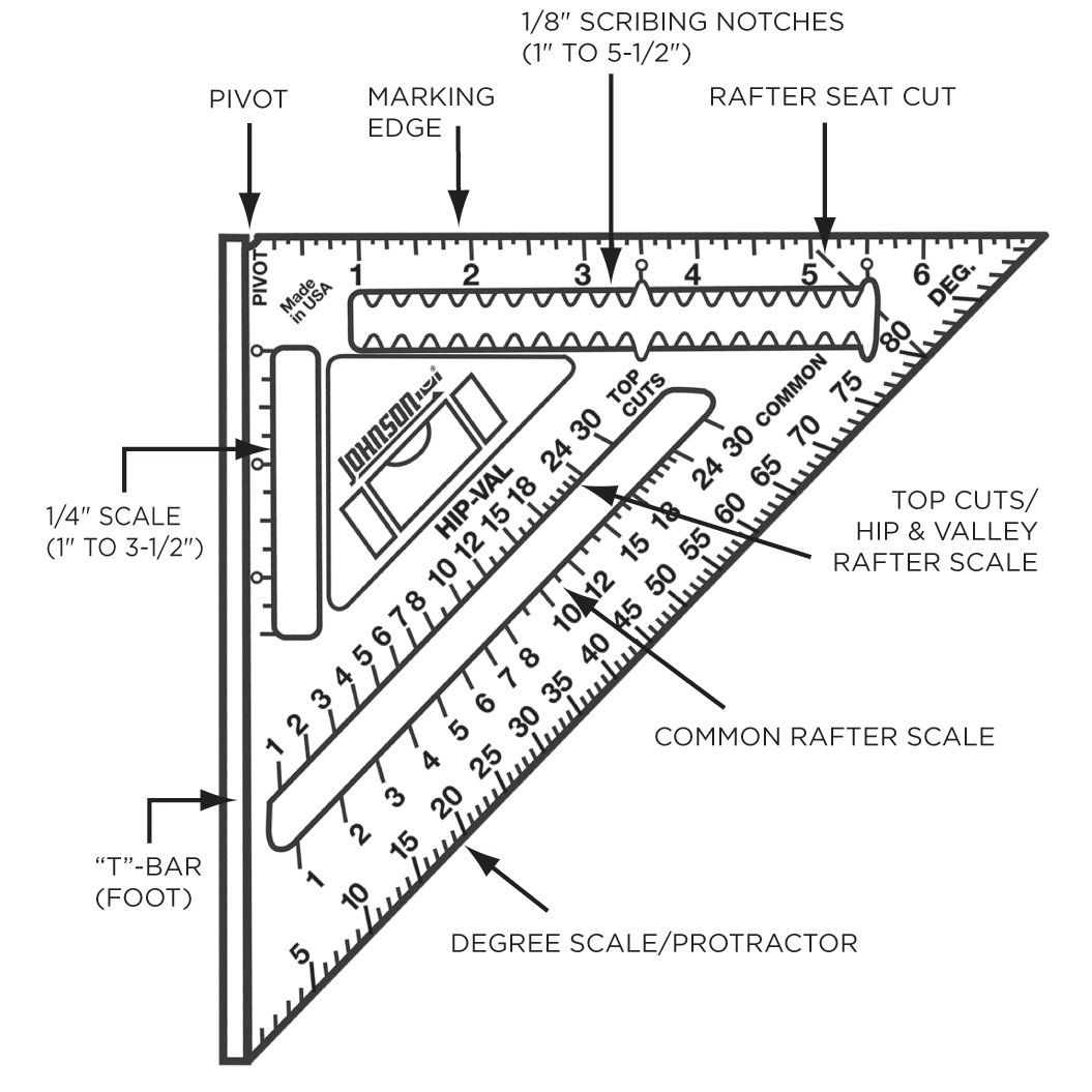 Johnson Level And Tool Model 7inch Aluminum Rafter Angle Square W Manual More Details Can Be Found At The Picture U Angle Square Woodworking Tools Rafter