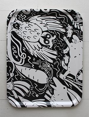 Bricka Haren från ArtWorkStockholm hos ConfidentLiving.se