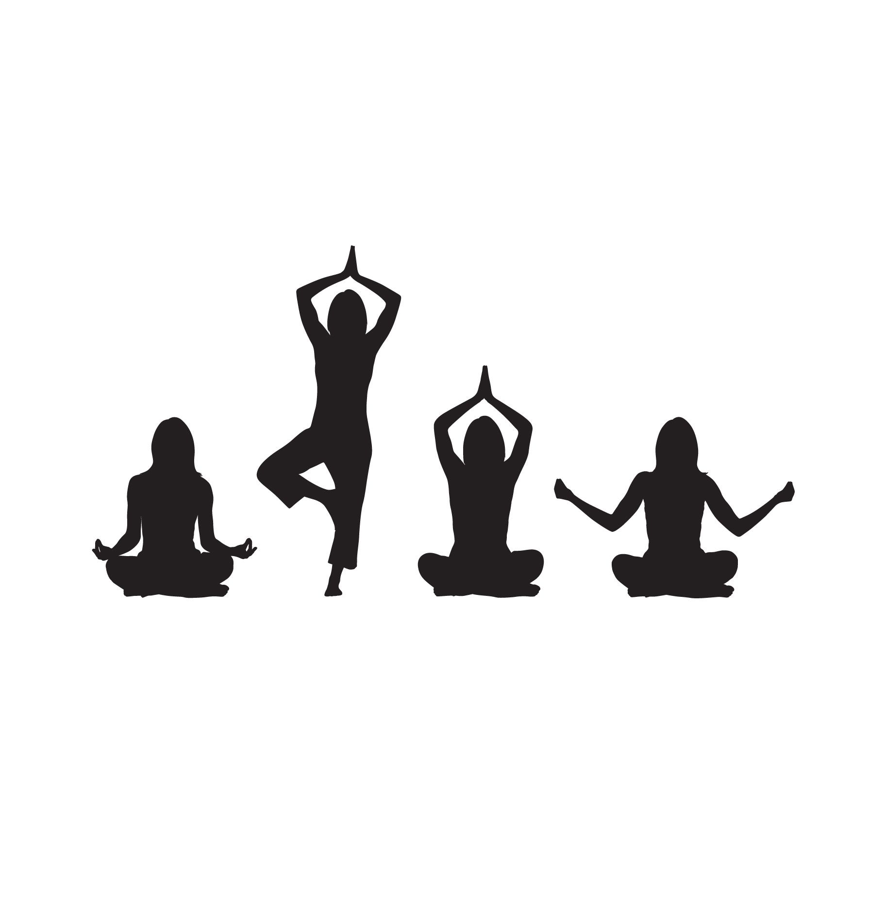 Illustration Yoga All Pose