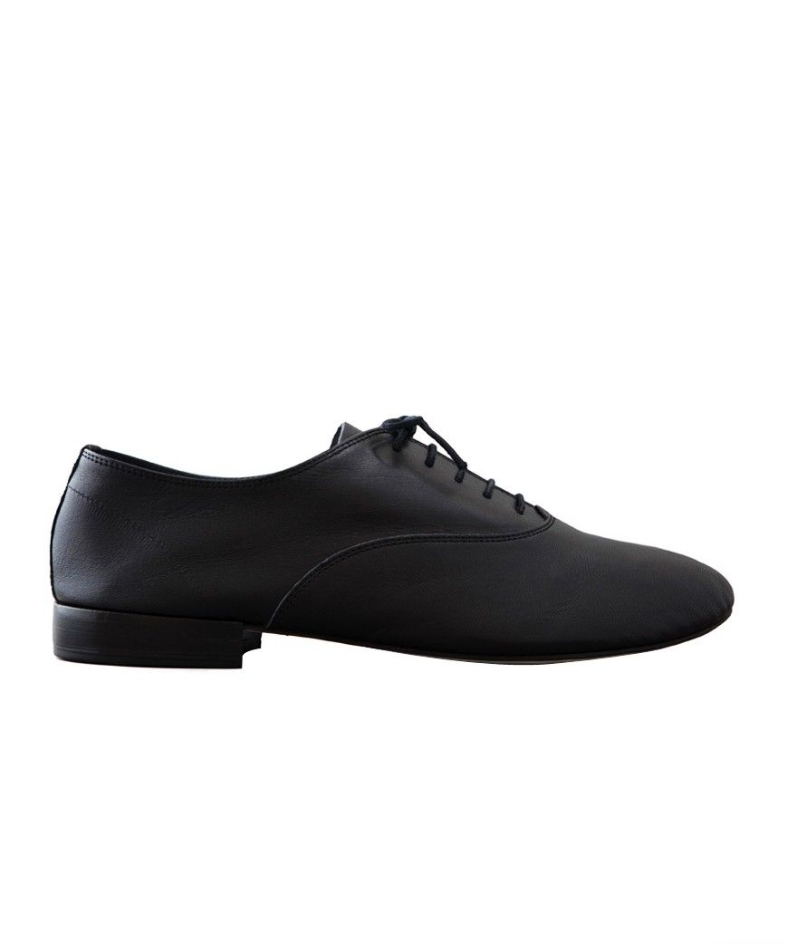 c2fecfa7504 Repetto e-boutique officielle - Richelieu Homme Zizi en cuir - Noir -  Collection Printemps
