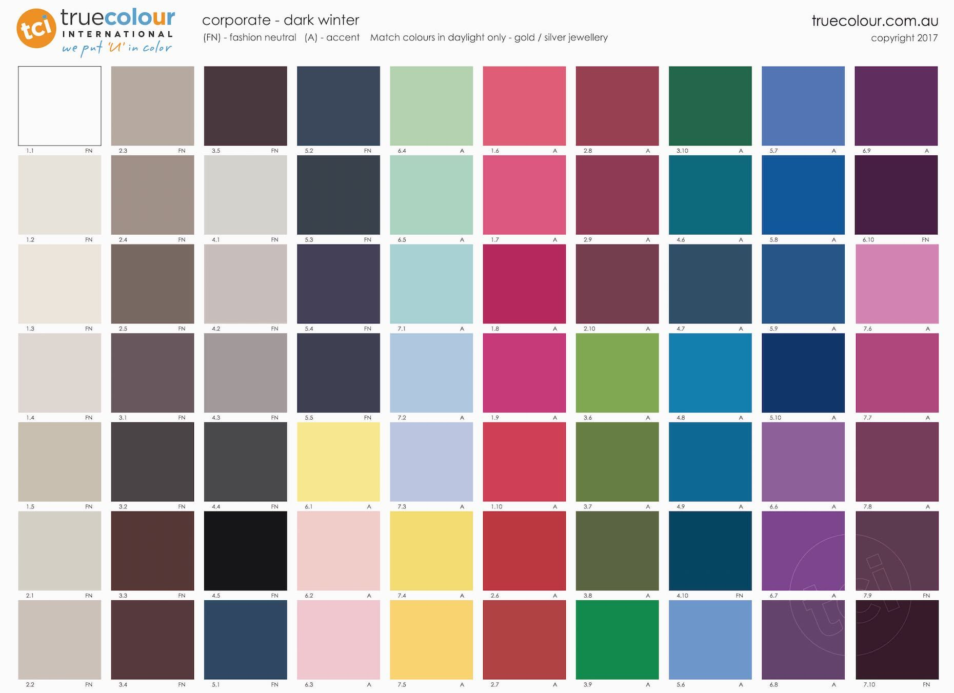 All Colors Shades Archives forecasting