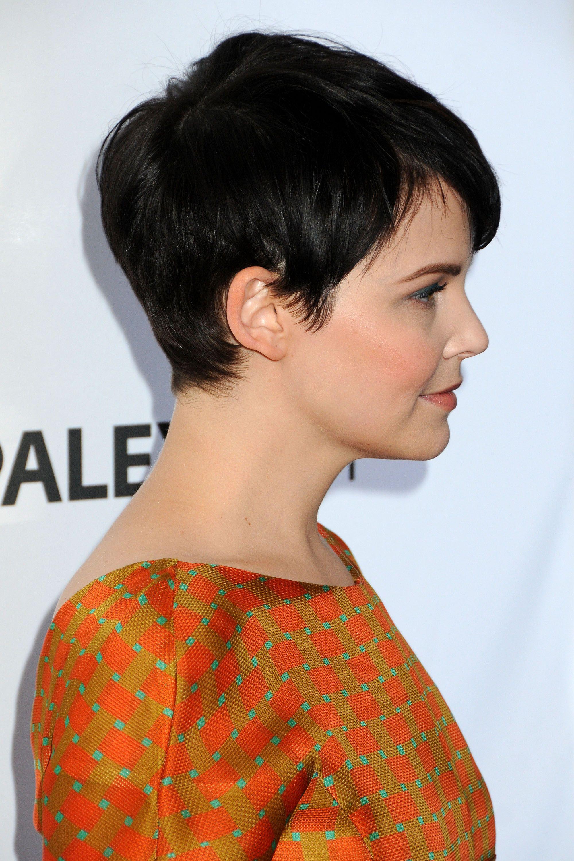 Ginnifer Goodwin, I like her pixie cut