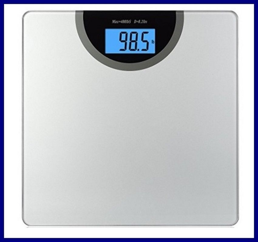 Digital Bathroom Scale Up To 400 Pounds