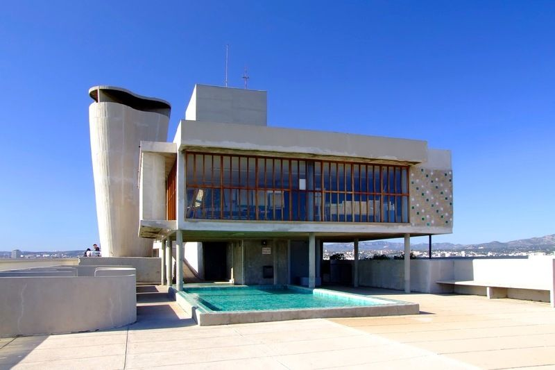 terrasse cit radieuse architecture pinterest radieuse cit radieuse de marseille et. Black Bedroom Furniture Sets. Home Design Ideas