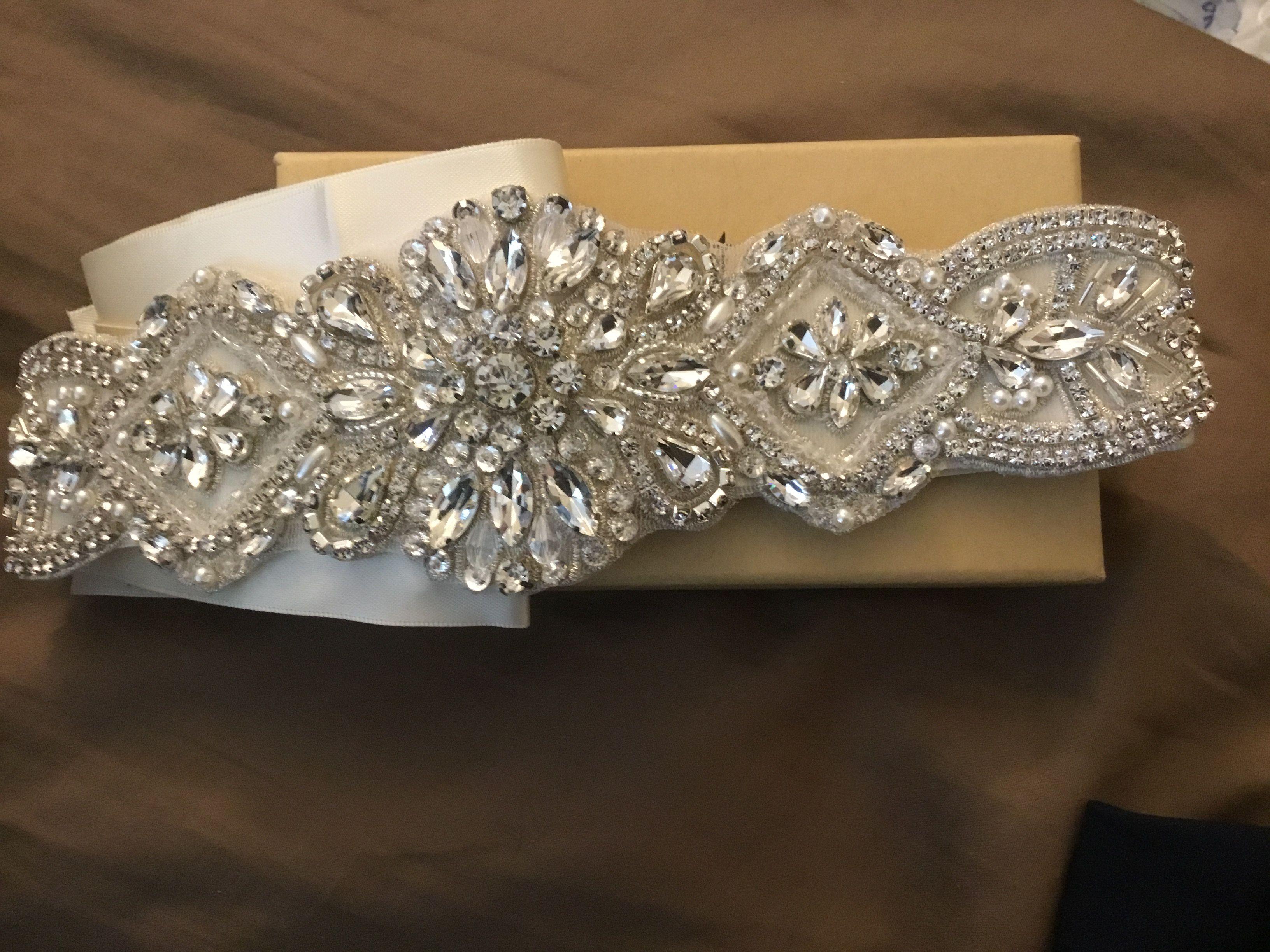 Belt for wedding dress Diamond bracelet