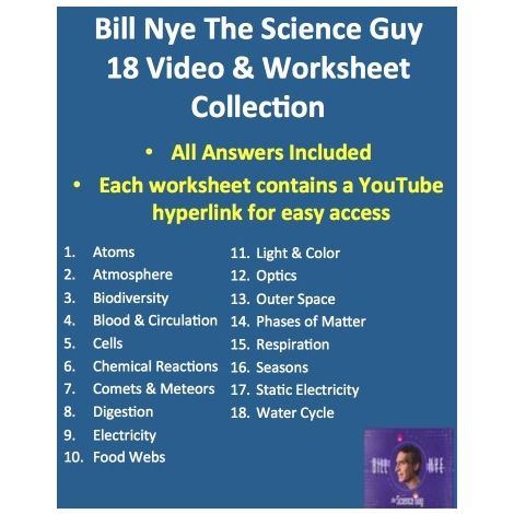 46++ Bill nye blood and circulation worksheet Information