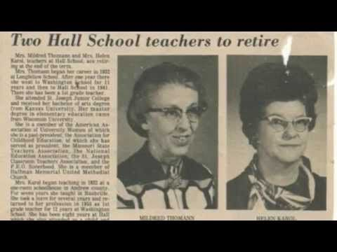 Hall Elementary School Tribute video - St. Joseph, Mo. - http://ilovestjosephmo.com/hall-elementary-school-tribute-video-st-joseph-mo