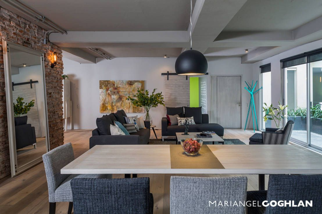 Comedores industriales de MARIANGEL COGHLAN | Dream Home | Fotos de ...