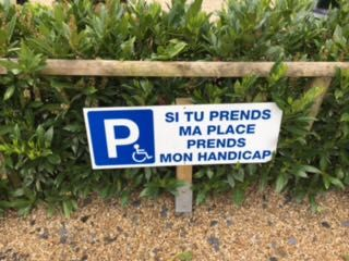 This sign my mom found in France