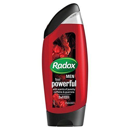 Radox for Men Feel Powerful Shower Gel 250ml PACK OF 6 ...