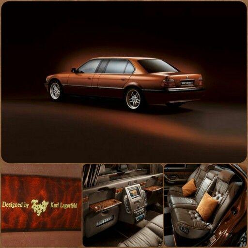 Karl Lagerfelds Bmw 750i L7 Individual Bmw Bmw Classic Cars