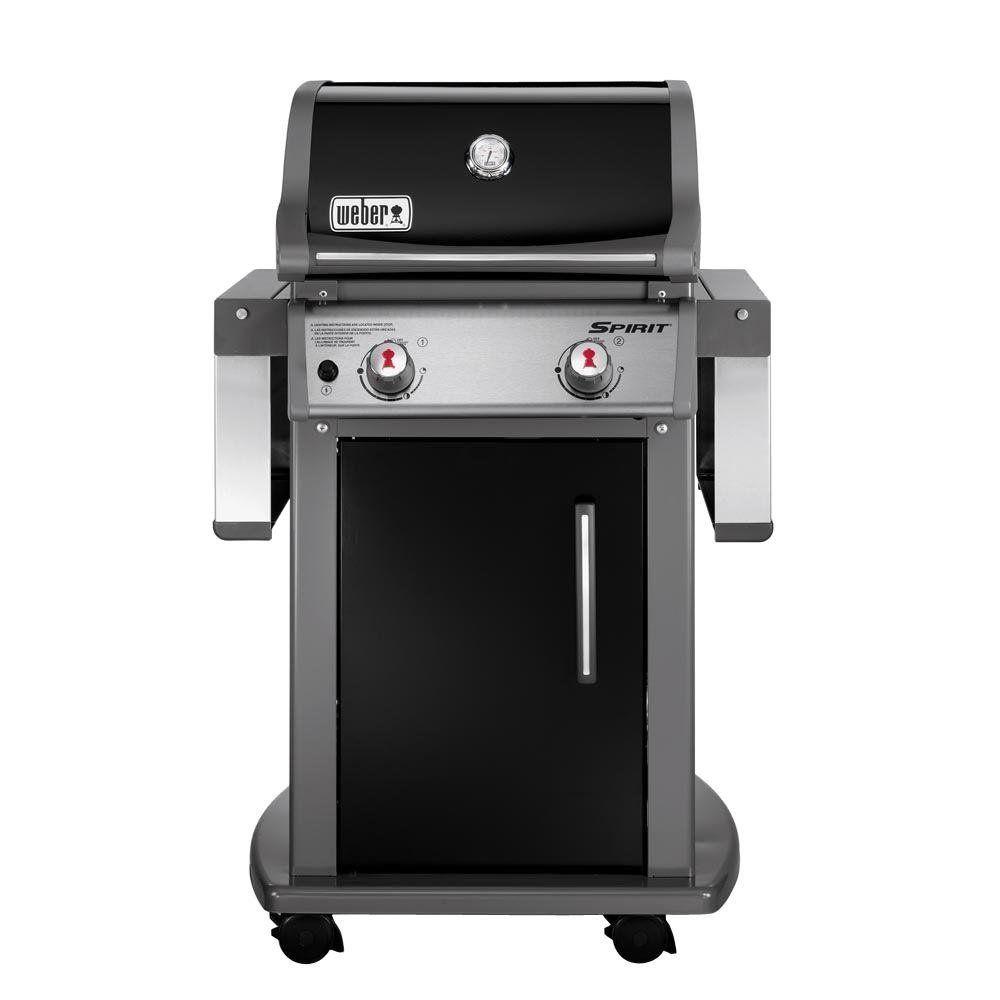 Weber Spirit E 210 Liquid Propane Grill Black Best Gas Grills Gas Grill Propane Grill