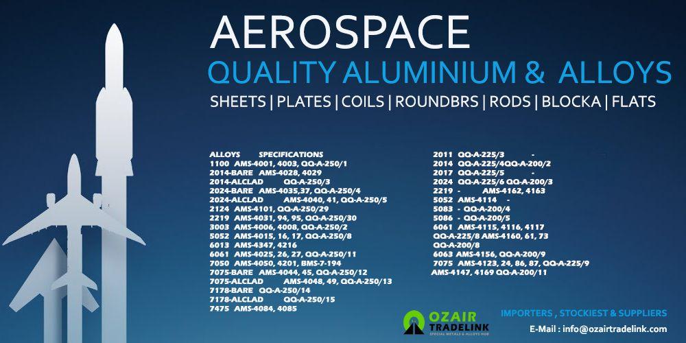 Aerospace Quality Aluminum Alloys Aluminium Alloy Aluminium Alloy
