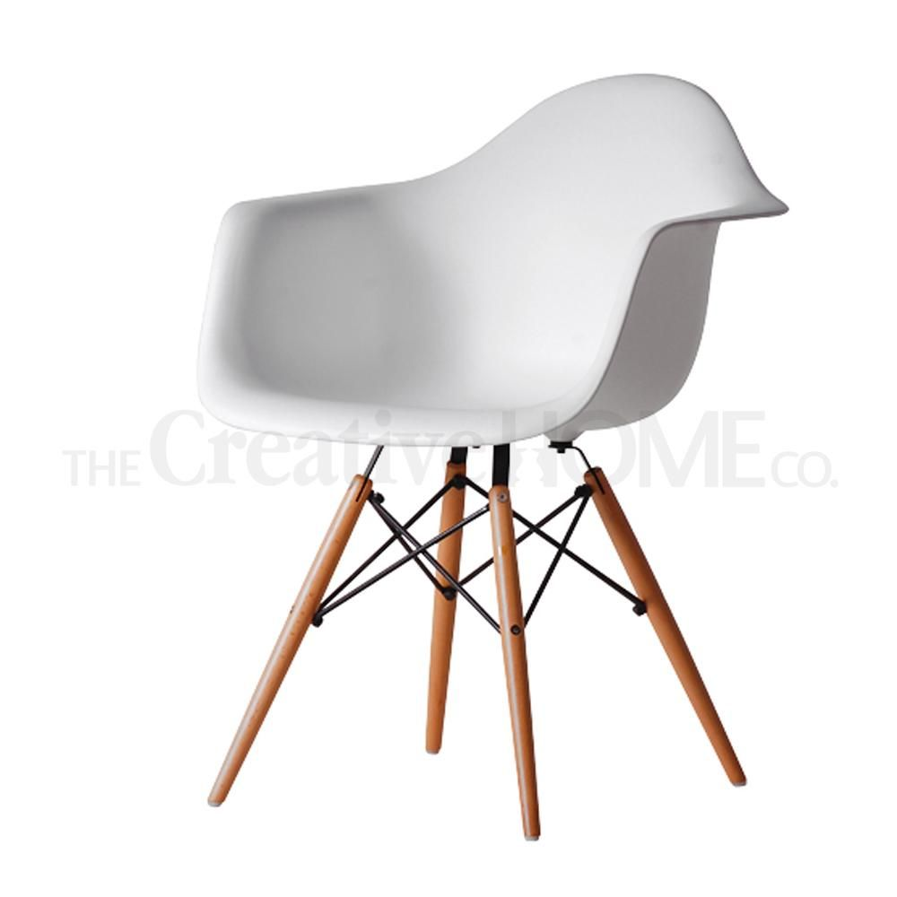 Eamon Modern Industrial dining chair
