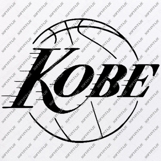 Kobe Bryant Svg Los Angeles Lakers SvgBasketball Svg