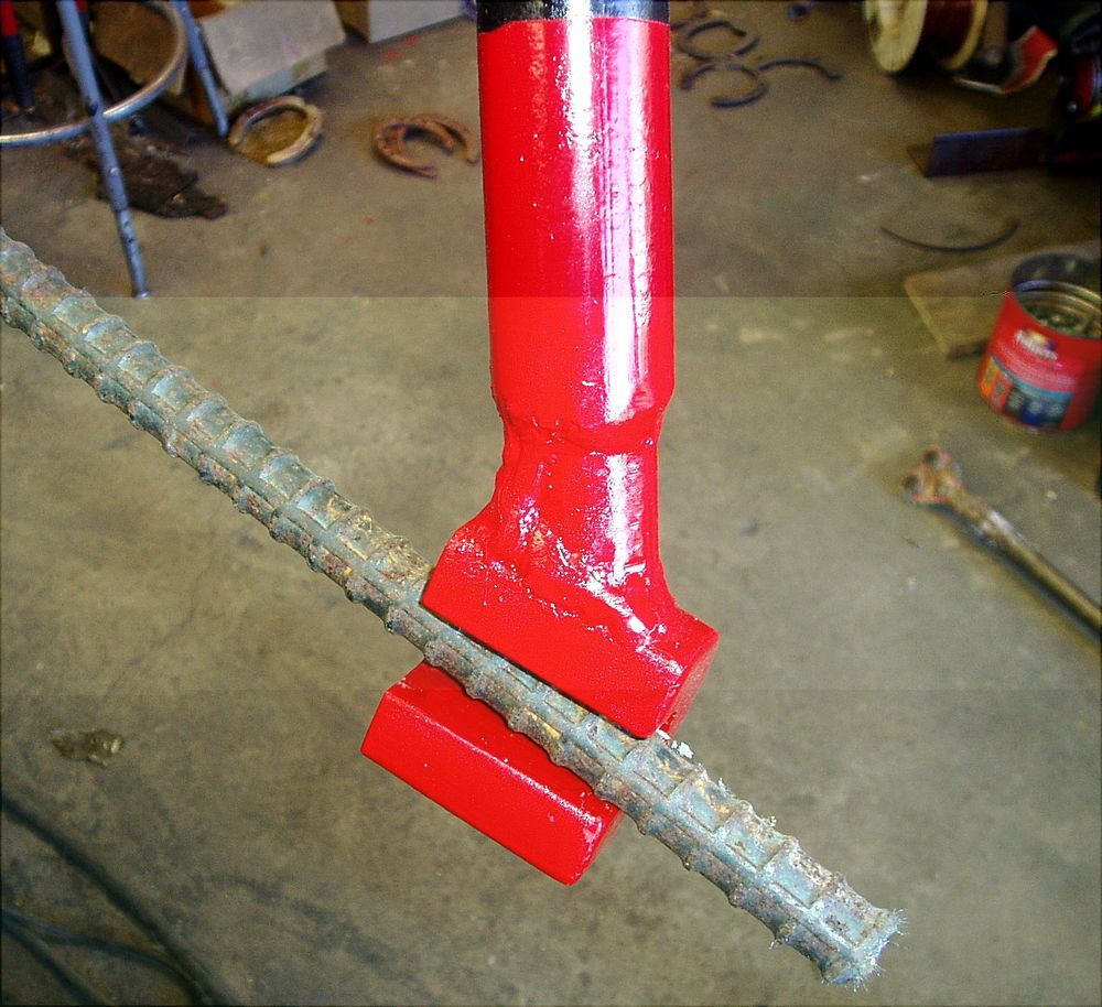 Details about b9 hand rebar bender hickey bar hicky manual for Diy reinforced concrete