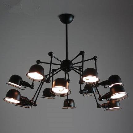 Find More Chandeliers Information about Vintage loft 12 lights ...