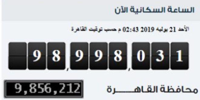 بعد قليل وصول عدد سكان مصر إلى 99 مليون نسمة بالداخل Clock Flip Clock Home Decor