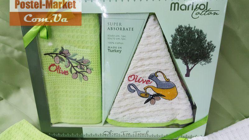 Набор полотенец для кухни Nilteks зеленый купить в интернет магазине Постель Маркет (Киев, Украина )