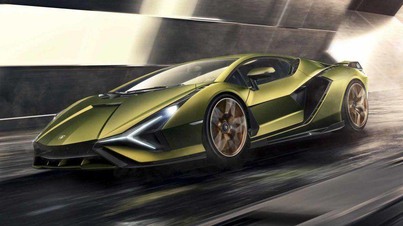 2020 Lamborghini Sian Hybrid Supercar Unveiled Super Sport Cars