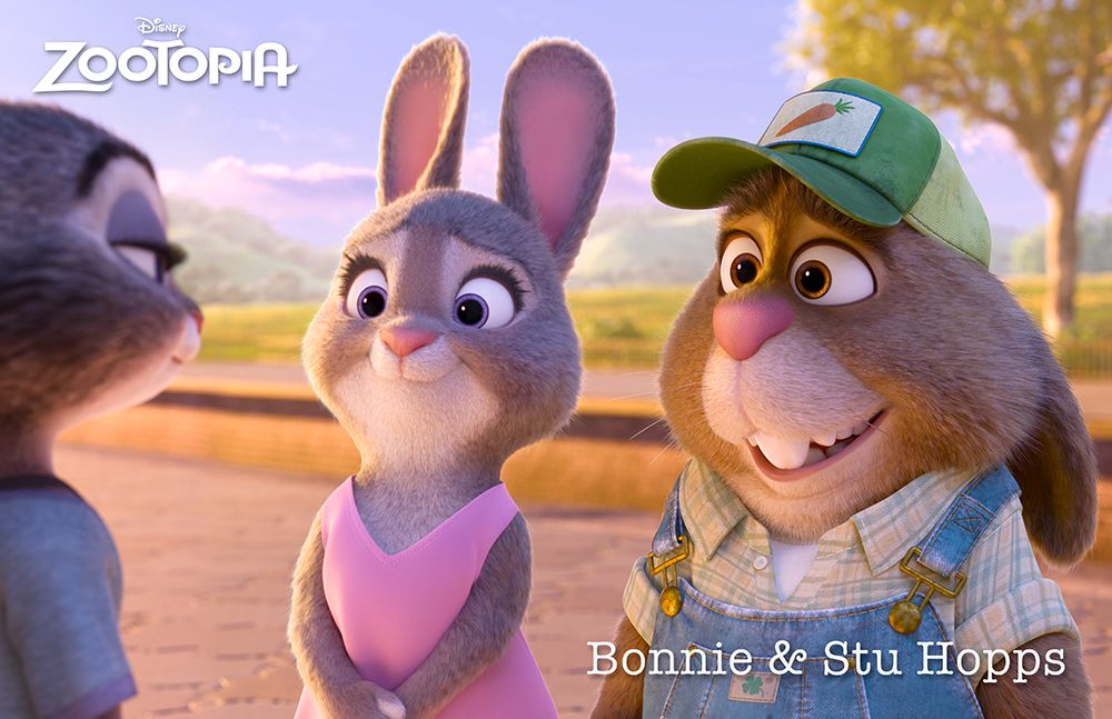 meet the characters zootopia release