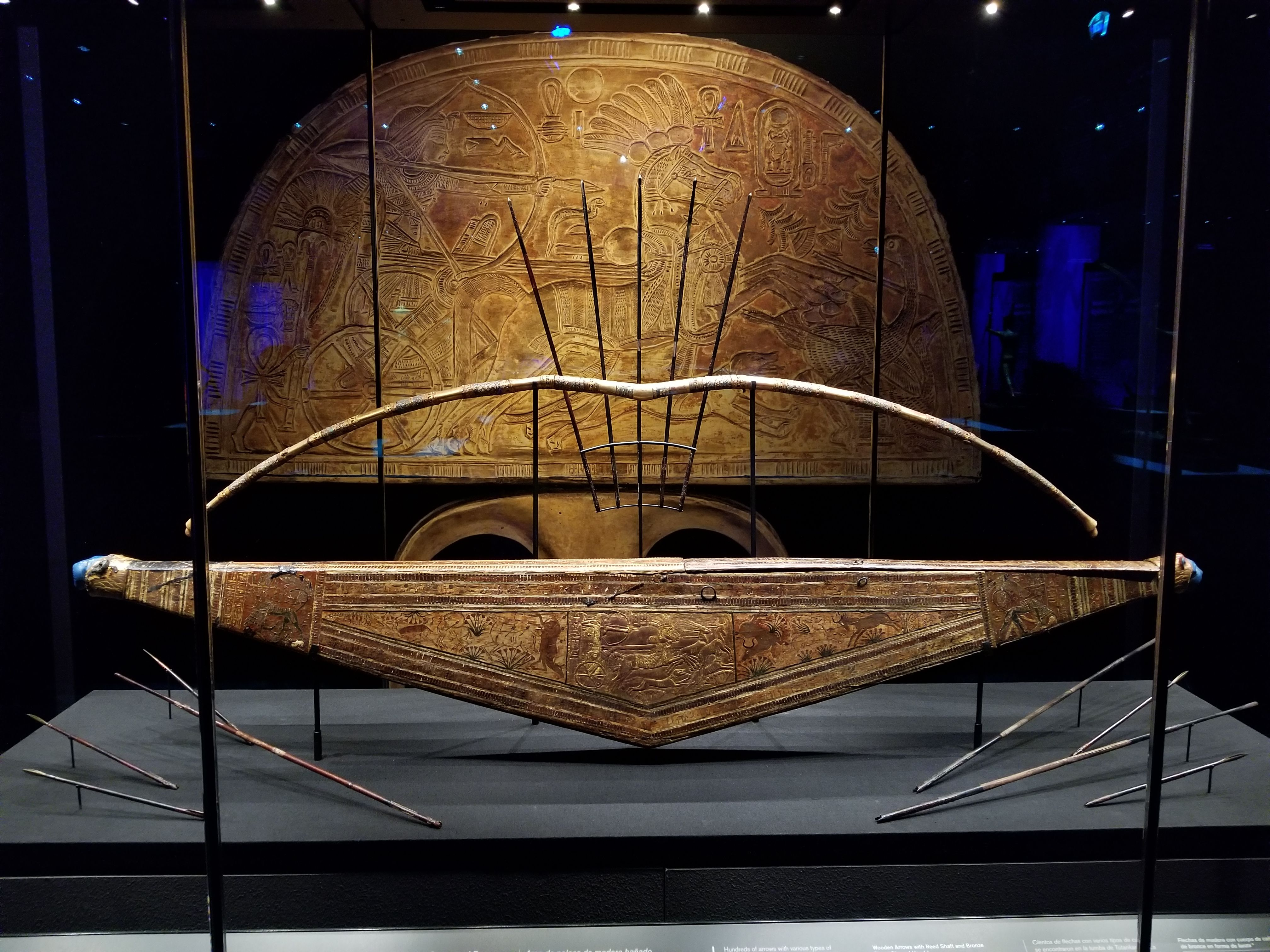 Tutankhamun S Bow Case Bows And Arrows Ancientegypt Hmodawn