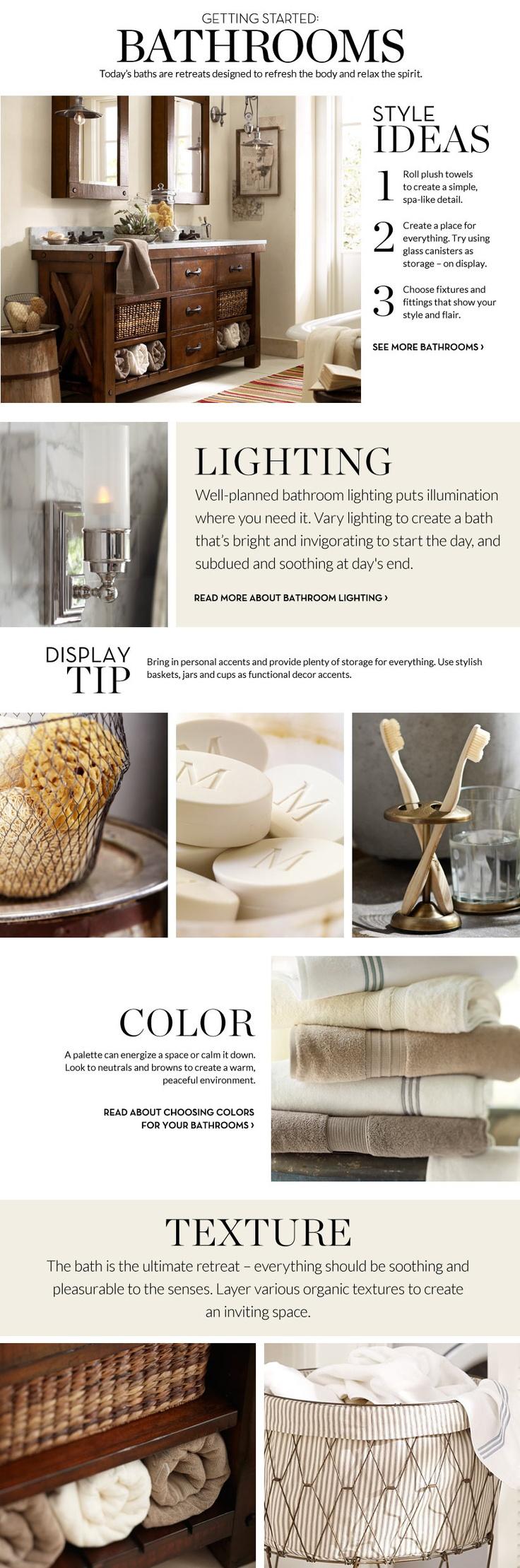 80572280805713709 Bathroom Decor & Decorating Ideas | Pottery Barn ...