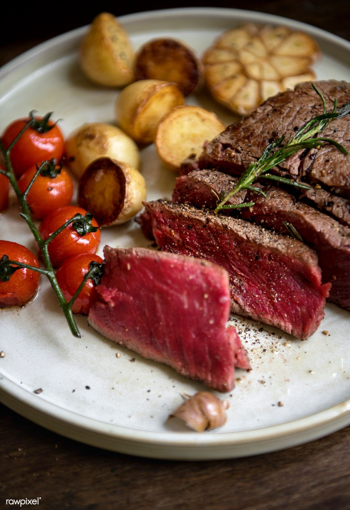 Download Premium Image Of Rare Fillet Of Steak Food Photography Recipe Food Food Photography Recipes