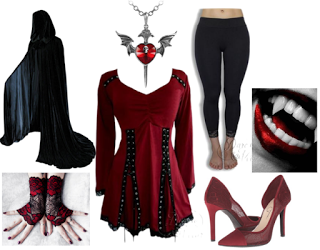 Vampire costume idea from dare to wear fashions affordable vampire costume idea from dare to wear fashions affordable alternative clothing for women of all solutioingenieria Images
