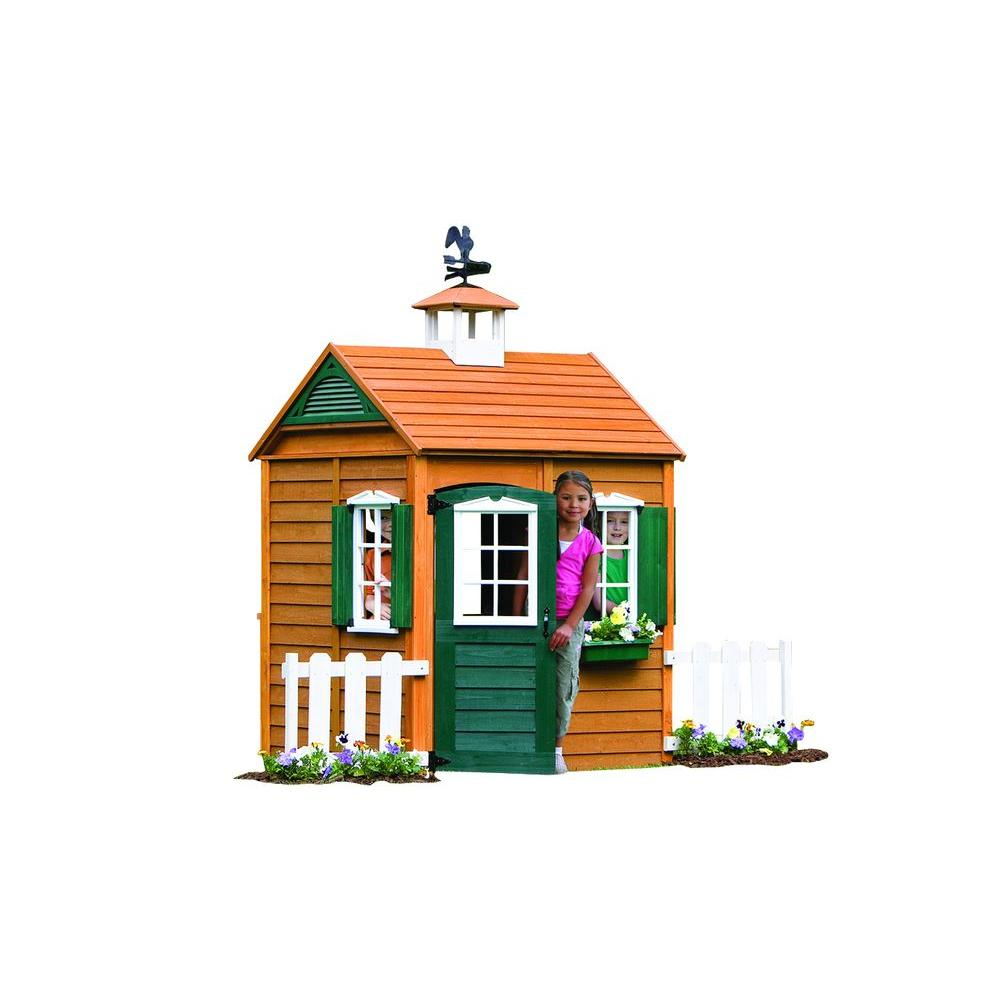 KidKraft Bayberry Wooden Playhouse-P280050 (With images ...