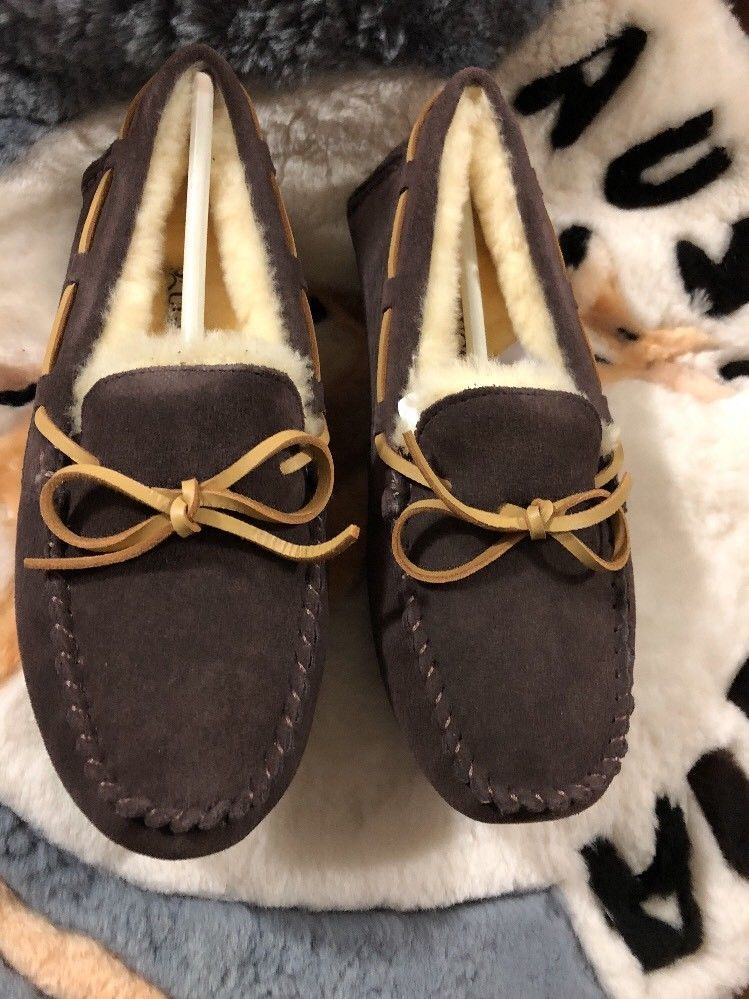 bccb09a31b3 ALL STOCK CLEARANCE] AXA Ugg Moccasin Chocolate #fashion #clothing ...