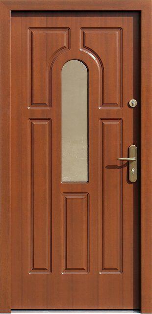 Photo of Exterior wooden doors with glass model 516s in …- Drzwi zewnętrzne drewniane …