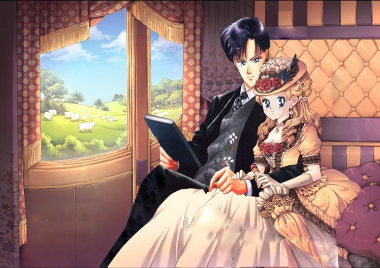 Lord Darien y Lady Serena by SEREDAR.deviantart.com on @deviantART