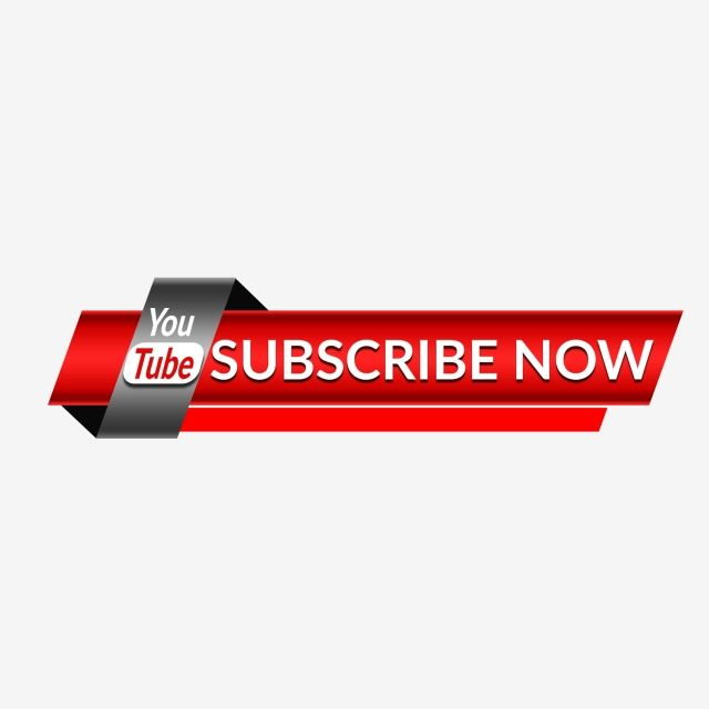 Youtube Subscribe Now Button Attractive Icon, Social, Like, Share