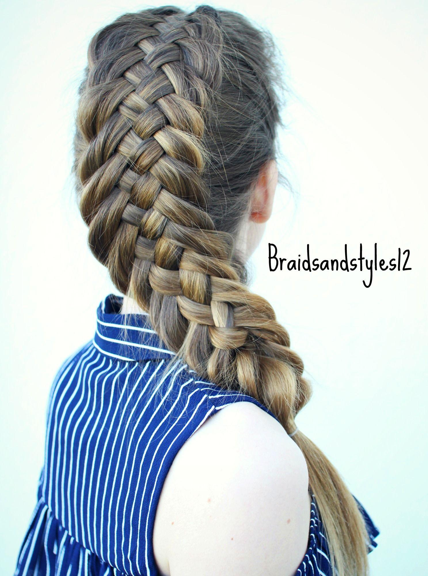 Diy Woven Fishtail Braid By Braidsandstyles12 Youtube Braidsandstyles12 Fish Tail Braid Hair Styles Kids Braided Hairstyles
