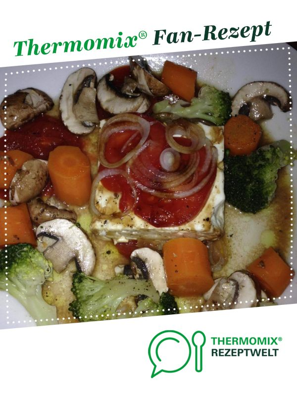 Photo of Varoma sheep's cheese with vegetables (better than on the grill)