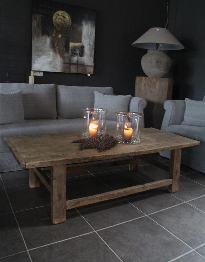 Meubelen 39 salontafel oud hout nieuw binnen 39 t veurhuus for Interieur stylist gezocht