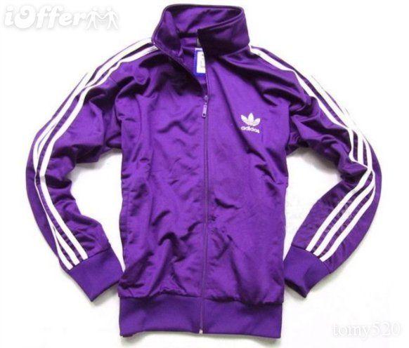 purple adidas | Adidas Sweater Purple | clothes | Pinterest ...