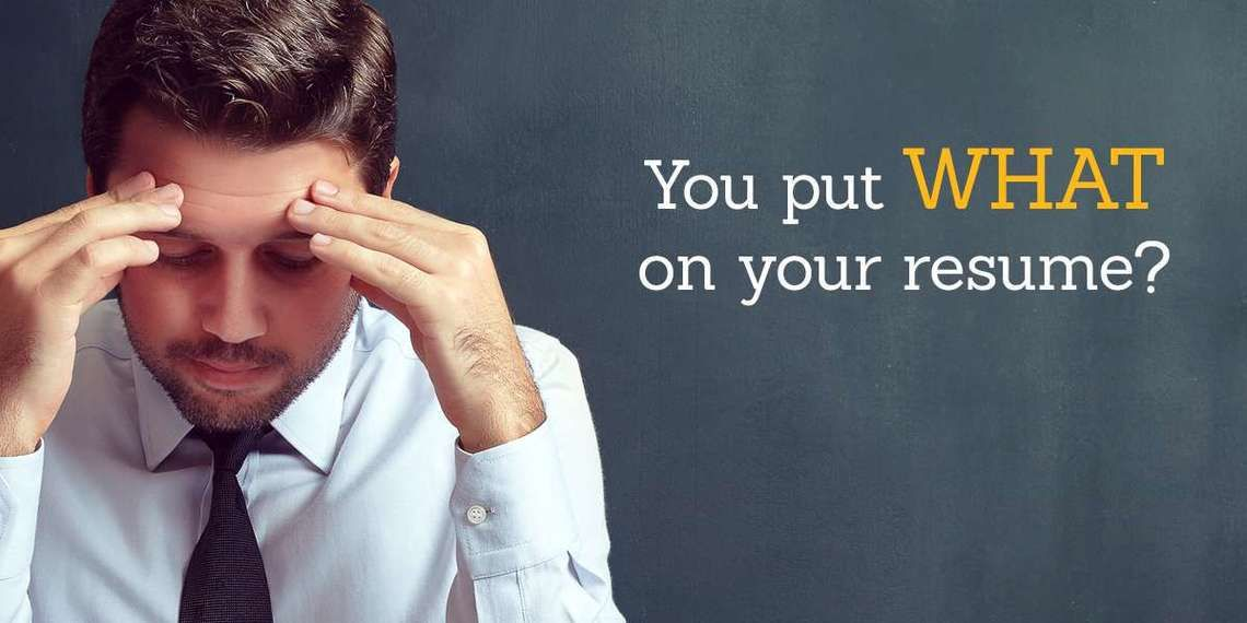 Avoid these common and not so common resume mistakes