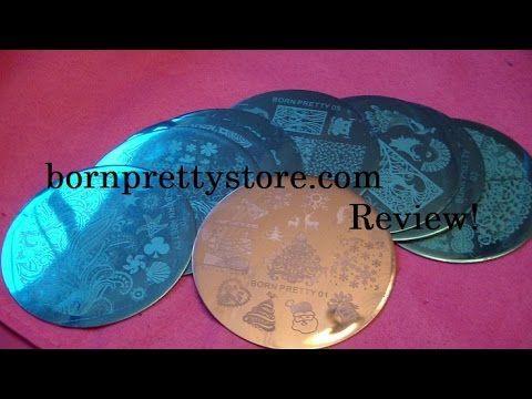 bornprettystore.com Stamping Plates 1-10 Review!
