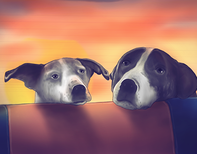 """Check out new work on my @Behance portfolio: """"Flip & Susi 