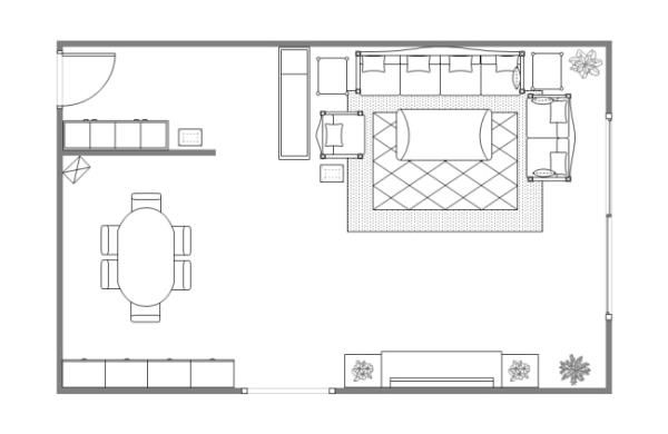 How To Create A Craft Room Guest Room Combo Room Layout Design Living Room Floor Plans Room Layout Planner