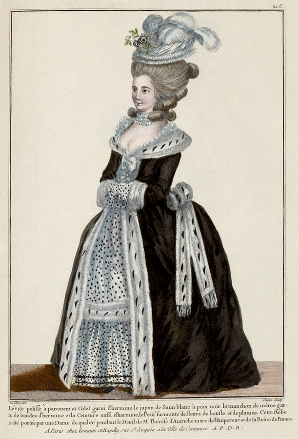 History of french fashion dress