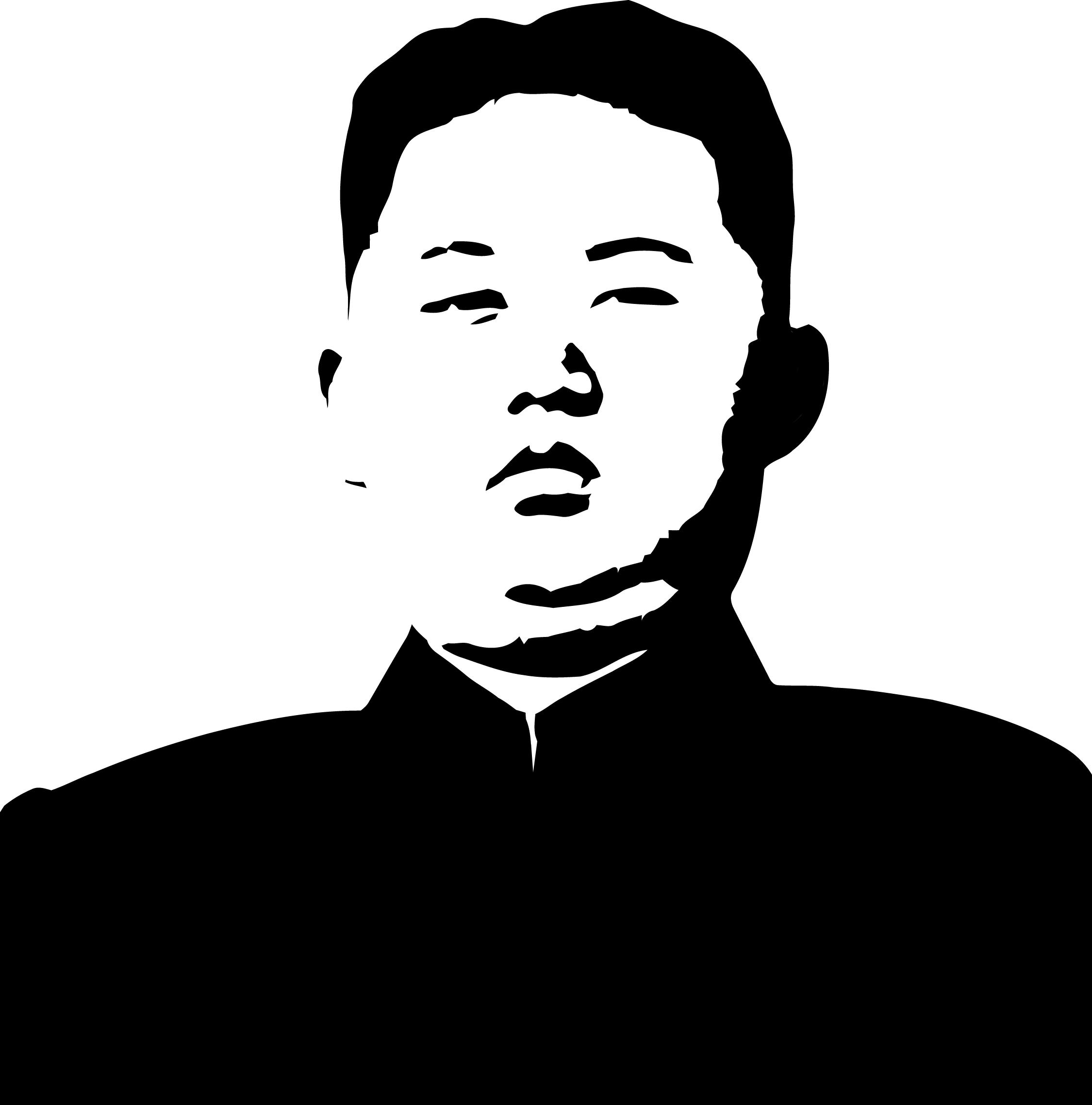 Kim Jong Un Stencil Art Art Prints Art