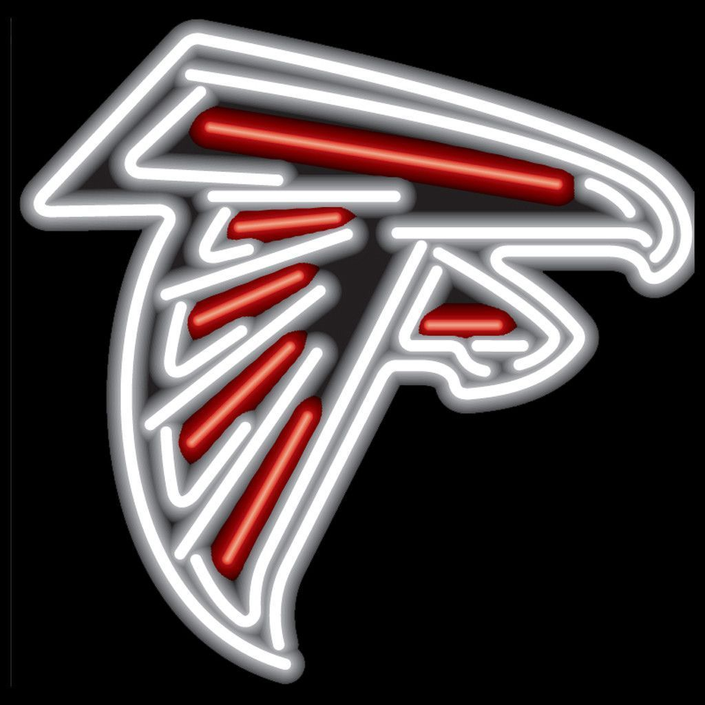 Atlanta Falcons Logo Neon Sign Atlanta Falcons Logo Atlanta Falcons Falcons