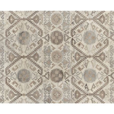 Orissa 8x10 Rug In All Rugs Crate And Barrel Rugs Crate And Barrel Rugs Girls Rugs