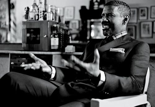 Thank you Denzel for being beautiful. I feel like such a cliche for fawning over you, but if you don't need that in your life, please turn down the fine. Thx.