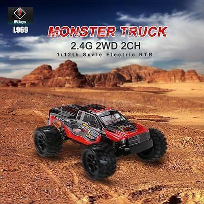 NEW SUBOTECH BG1508 1//12 2.4G 2CH 4WD Racing RTR Truck RC Car