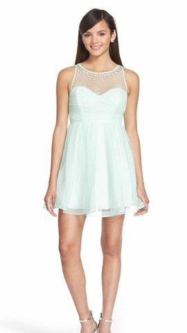 Sequin Hearts PROM dress in Mint Green | Prom Dress | Pinterest ...