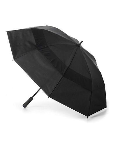 Totes Auto-Opening Vented Golf Umbrella Men's Black